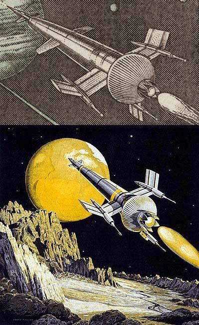 Robert McCall est mort à l'âge de 90 ans Czeskoslovakia_1963_space_160_det