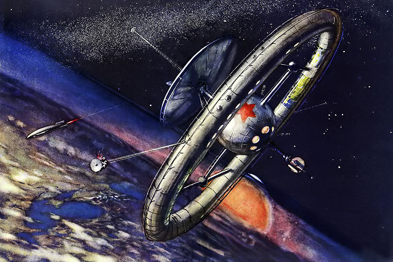 Soviet space station (1950)