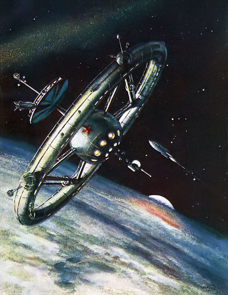 1950 Space Station Pics About Space