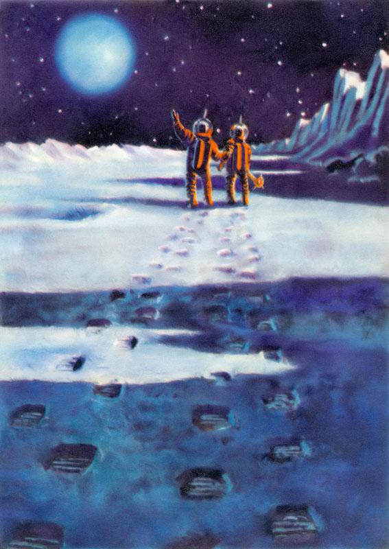 это мы оставляем следы на Марсе