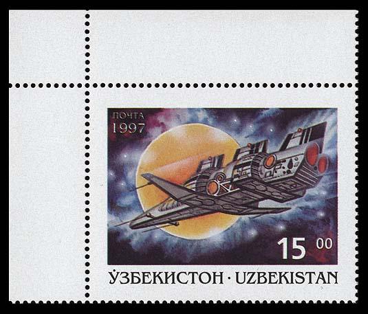 Astrophilatélie soviétique et pays de l'Est - Page 3 Uzbekistan_1997_space_and_fantasy_15_4