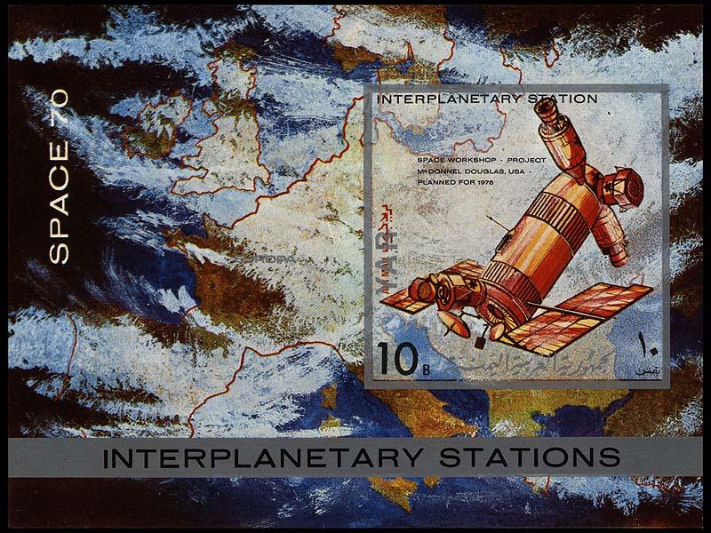 Skylab: 35è anniversaire Yemen_ar_1971_space70_10blimp_800x600