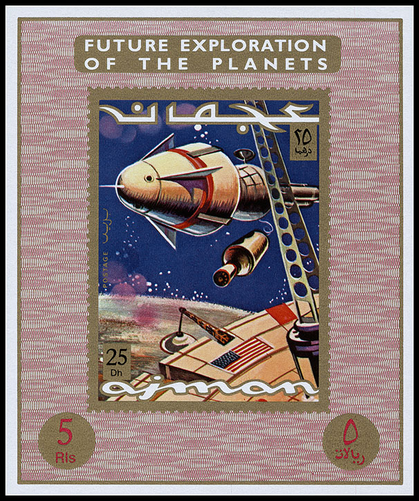 AstroPhilathélie - Page 9 Ajman_1971_future_space_mi_einzelblock_965