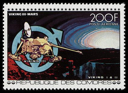 AstroPhilathélie - Page 6 Comores_1977_space_mi_373a