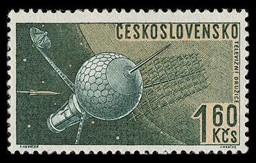 Robert McCall est mort à l'âge de 90 ans Czeskoslovakia_1962_space_mi_1335