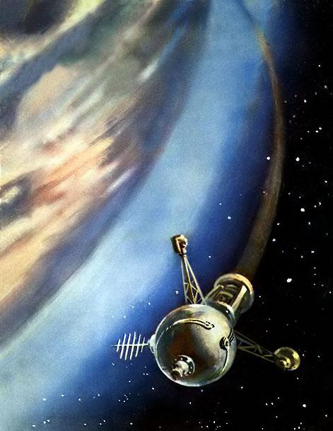 Robert McCall est mort à l'âge de 90 ans Czeskoslovakia_1962_space_mi_1335_radio