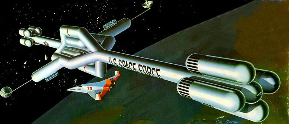 Robert McCall est mort à l'âge de 90 ans Czeskoslovakia_1963_space_mi_1401_canvar_2