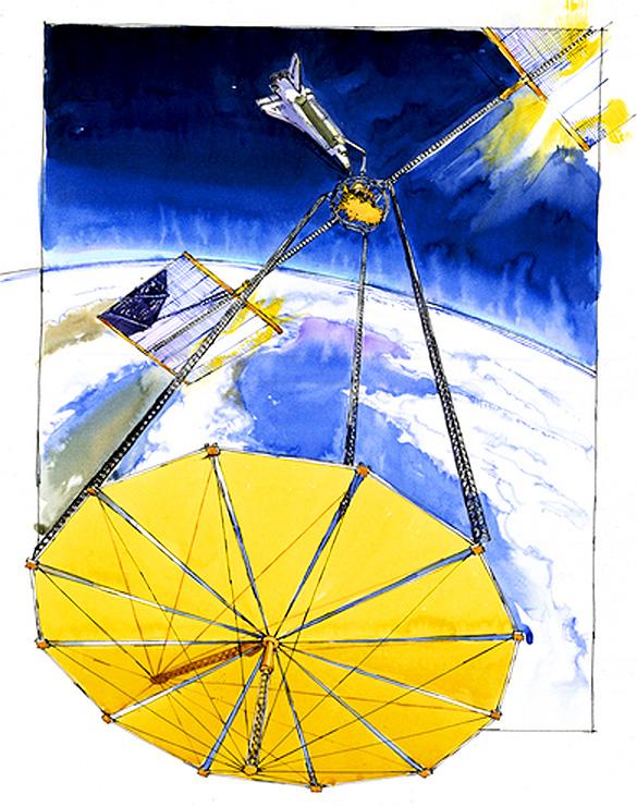 AstroPhilathélie - Page 9 Djibouti_1981_shuttle_mi_block_50a_ill