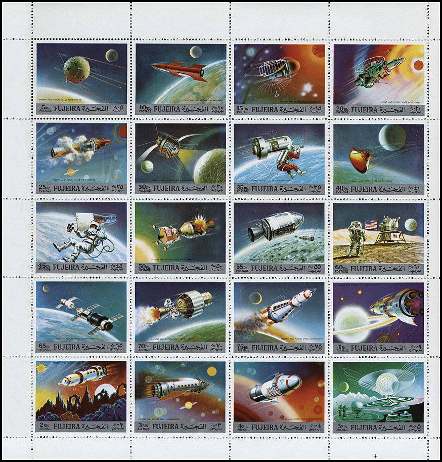 AstroPhilathélie - Page 9 Fujeira_1972_space_mi_957a_976a_min