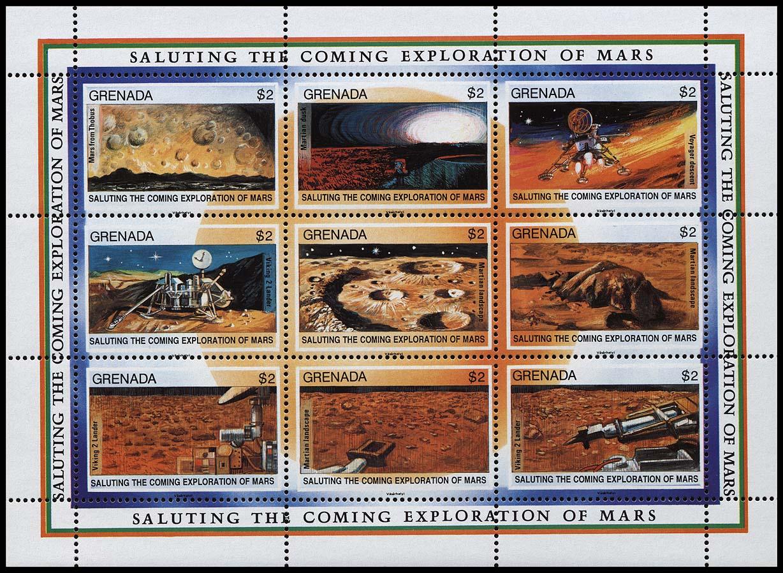 AstroPhilathélie - Page 6 Grenada_1991_mars_mi_2296_2304