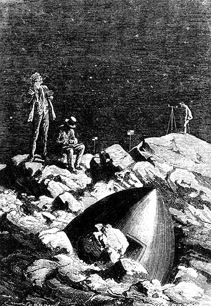 С земли на луну  wiki