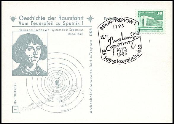 Astrophilatélie soviétique et pays de l'Est - Page 5 Postcard_ddr_1982_25_sputnik_06