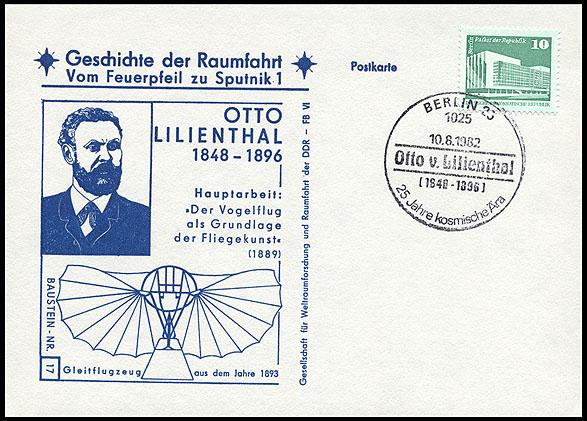 Astrophilatélie soviétique et pays de l'Est - Page 5 Postcard_ddr_1982_25_sputnik_17
