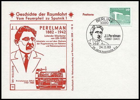 Astrophilatélie soviétique et pays de l'Est - Page 5 Postcard_ddr_1982_25_sputnik_31