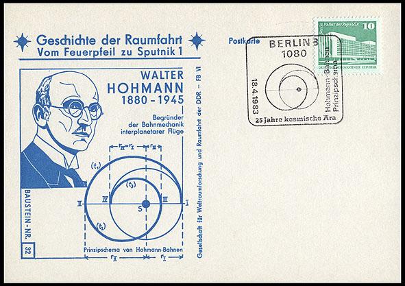 Astrophilatélie soviétique et pays de l'Est - Page 5 Postcard_ddr_1982_25_sputnik_32