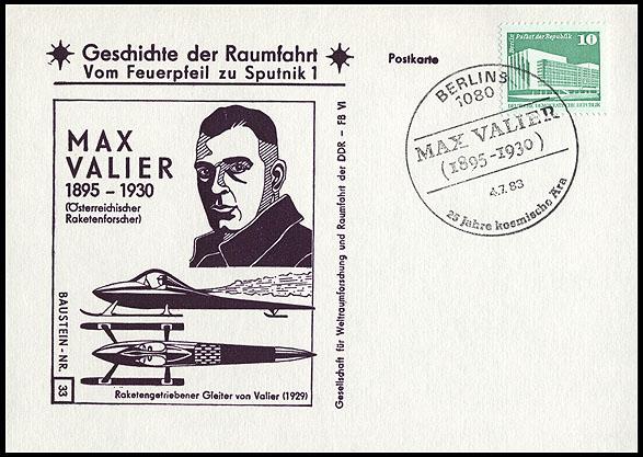Astrophilatélie soviétique et pays de l'Est - Page 5 Postcard_ddr_1982_25_sputnik_33