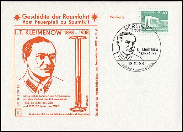 Astrophilatélie soviétique et pays de l'Est - Page 5 Postcard_ddr_1982_25_sputnik_36