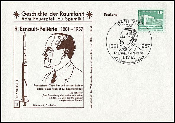 Astrophilatélie soviétique et pays de l'Est - Page 5 Postcard_ddr_1982_25_sputnik_39