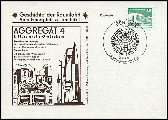Astrophilatélie soviétique et pays de l'Est - Page 5 Postcard_ddr_1982_25_sputnik_46