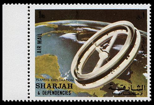 AstroPhilathélie - Page 9 Sharjah_1972_space_research_mi_1003