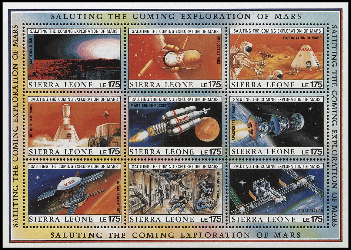 AstroPhilathélie - Page 6 Sierra_leone_1990_mars_mi_1383_1391