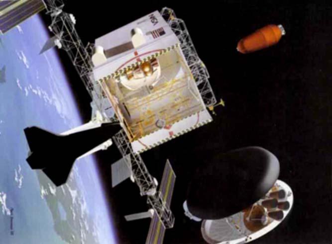 AstroPhilathélie - Page 6 Sierra_leone_1990_mars_mi_1391_spacedock