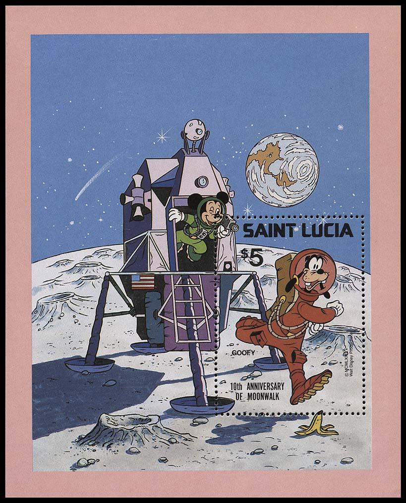 AstroPhilathélie - Page 5 St_lucia_1979_moonwalk_bl